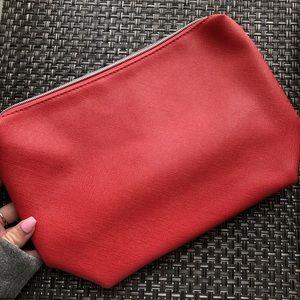 Nordstrom red makeup bag